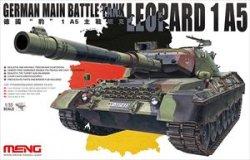 画像1: モンモデル[MENTS-015]1/35 ドイツ主力戦車レオパルト1A5