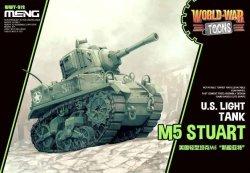 画像1: モンモデル[MENWWT-012]WWT アメリカ軽戦車 M5 スチュアート