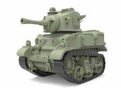 画像2: モンモデル[MENWWT-012]WWT アメリカ軽戦車 M5 スチュアート