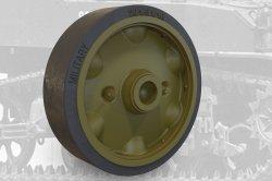 画像1: FuryModels[FM35004]1/35 M5A1軽戦車/M8自走砲用スタンプスポーク(プレス型)転輪セットB