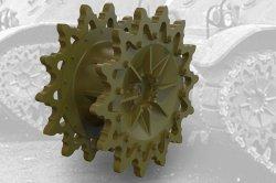 画像1: FuryModels[FM35006]1/35 M3/M3A1/M3A3/M5軽戦車用起動輪14T(後期型)