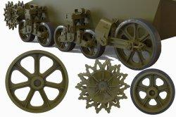 画像3: FuryModels[FM35012]1/35 M3/M3A1/M5軽戦車用転輪&サスペンションセット