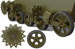 画像2: FuryModels[FM35013]1/35 M3A1/M3A3軽戦車後期型用転輪&サスペンションセット
