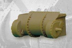 画像1: FuryModels[FM35016]1/35 M3リー/グラント戦車用スリーピースデファレンシャルカバー