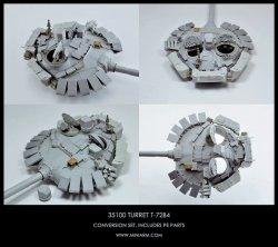 画像1: Miniarm[B35100] T-72B4 m2014 砲塔セット(トラペ/モン/ズベズダ用)
