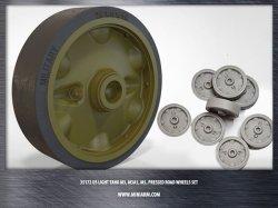 画像1: Miniarm[B35172]1/35 WWII米 M3/M5スチュアート 転輪セット(プレスタイプ)
