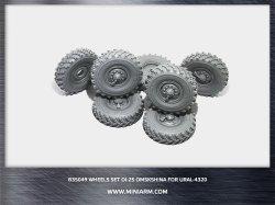画像1: Miniarm[B35049t]1/35 現用露 ウラル4320 6X6 トラック タイヤセット(OI-25)