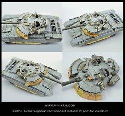 """画像1: Miniarm[B35073t]T-72B2 """"Rogatka"""" コンバージョン(トランぺッター用)(2016改訂)"""
