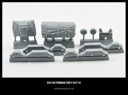 画像1: Miniarm[B35149]1/35 現用露 T-54/55 アクセサリーセット(汎用)