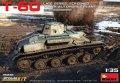 ミニアート[MA35232]1/35 T-60後期型増加装甲仕様(ゴーリキー自動車工場製)内部再現