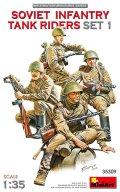 ミニアート[MA35309]1/35 ソビエト歩兵戦車乗員セット1(4体入)