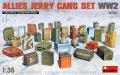 ミニアート[MA35587]1/35 連合国 ジェリ缶セットWW2
