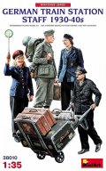 ミニアート[MA38010]1/35 ドイツ人駅員4体入 1930-40年代