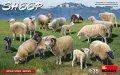 ミニアート[MA38042]1/35 羊(15頭)セット