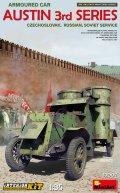 ミニアート[MA39007]1/35オースチン装甲車3型(チェコスロバキア・ロシア・ソビエト)フルインテリア(内部再現)