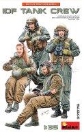 ミニアート[MA37076]1/35 IDF(イスラエル国防軍)戦車兵4体入