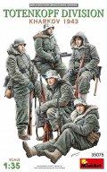 ミニアート[MA35075]1/35 トーテンコップ師団兵5体入(ハリコフ攻防戦1943)