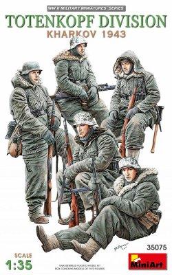 画像1: ミニアート[MA35075]1/35 トーテンコップ師団兵5体入(ハリコフ攻防戦1943)