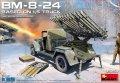 ミニアート[MA35259]1/35 BM-8-24カチューシャ砲/1.5tトラック搭載