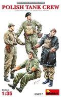 ミニアート[MA35267]1/35 ポーランド戦車兵フィギュアセット4体入