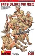 ミニアート[MA35299]1/35 イギリス戦車兵 5体入 特別版(武器・装備品付)