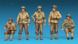 画像3: ミニアート[MA35308]1/35 アメリカ軍ジープクルー&ミリタリーポリス5体入 特別版(武器・装備品付)
