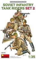 ミニアート[MA35310]1/35 ソビエト歩兵戦車乗員セット2(4体入)
