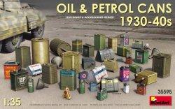 画像1: ミニアート[MA35595]1/35 油&石油缶セット1930-40年代