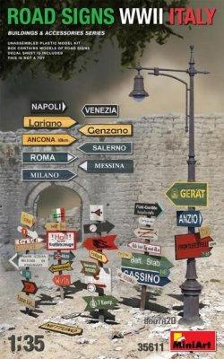 画像1: ミニアート[MA35611]1/35道路標識 WWII イタリア