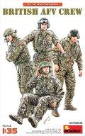 ミニアート[MA37059]1/35 イギリス軍戦車兵セット4体入