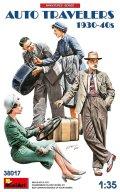 ミニアート[MA38017]1/35 自動車で旅行する民間人セット1930-40年代(4体入)