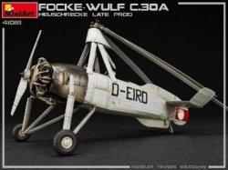 画像2: ミニアート[MA41018]1/35フォッケウルフFW C.30A ホイシュレッケ後期型