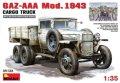【特価品】ミニアート[MA35133] 1/35 GAZ-AAA Mod.1943 カーゴトラック
