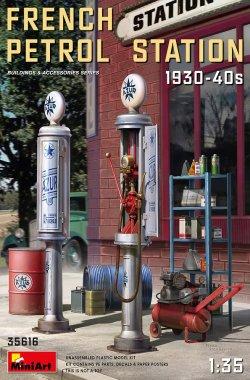画像1: ミニアート[MA35616]1/35 フランス給油所1930-40年代