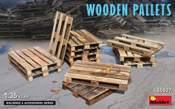 画像1: ミニアート[MA35627]1/35 木製パレットセット(12枚入)