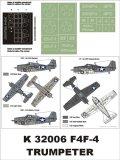 Montex[K32006]1/32 F4F-4 Wildcat (US NAVY)