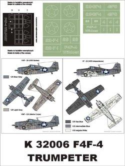 画像1: Montex[K32006]1/32 F4F-4 Wildcat (US NAVY)