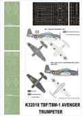 Montex[K32018]1/32 TBF-1 Avenger