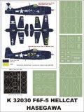 Montex[K32030]1/32F6-F-3 ヘルキャット (ハセガワ用)