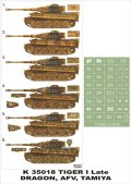 Montex[K35018]1/35タイガーI型後期型 (ドラゴン/AFVクラブ/タミヤ用)