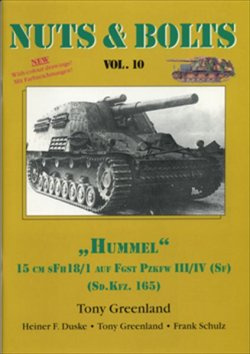 画像1: [Nuts-Bolt_Vol10] 15cm s.FH 18/1 Hummel(sd.kfz.165)
