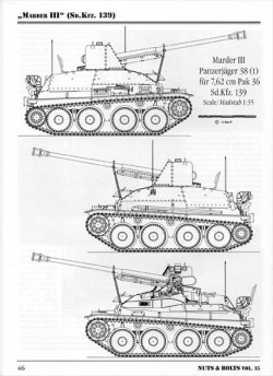 画像4: [Nuts-Bolt_Vol15] Marder III(sd.kfz.139)&towed7.62cm Pak36