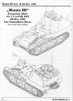 画像4: [Nuts-Bolt_Vol17] Marder III/7.5cm Pak40 Ausf.M (sd.kfz.138)