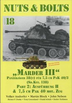 画像1: [Nuts-Bolt_Vol18] Marder III/7.5cm Pak40 Ausf.H &Towed7.5cm
