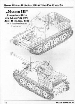 画像4: [Nuts-Bolt_Vol18] Marder III/7.5cm Pak40 Ausf.H &Towed7.5cm