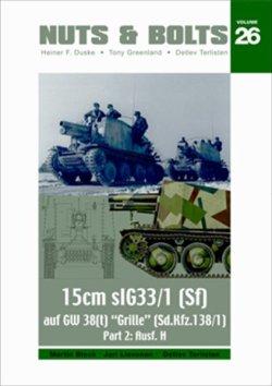 画像1: [Nuts-Bolt_Vol26] Grille 15cm sIG 33/1 (Sf) Ausf. H(Sd.Kfz. 138/1)グリレ15cmsIG33/1(Sf)H型(sd.kfz.138/1)