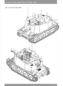 画像4: [Nuts-Bolt_Vol26] Grille 15cm sIG 33/1 (Sf) Ausf. H(Sd.Kfz. 138/1)グリレ15cmsIG33/1(Sf)H型(sd.kfz.138/1)