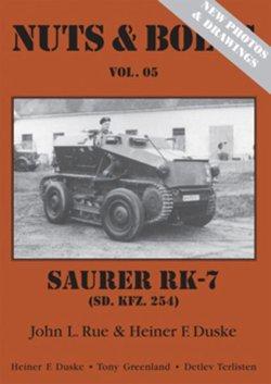 画像1: [Nuts-Bolt_Vol05] ザウラー RK-7(sd.kfz.254)=改訂版 2012年9月=
