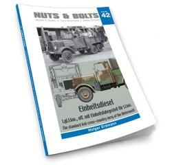 画像1: [Nuts-Bolt_Vol42]アインハイツ ディーゼルl.gl.Lkw(大型オフロードトラック)ドイツ国防軍用統制型6x6クロスカントリートラック