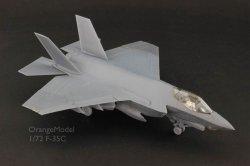 画像2: オレンジホビー[A72010]1/72 現用 米 アメリカ海軍 ロッキードマーチン F-35C